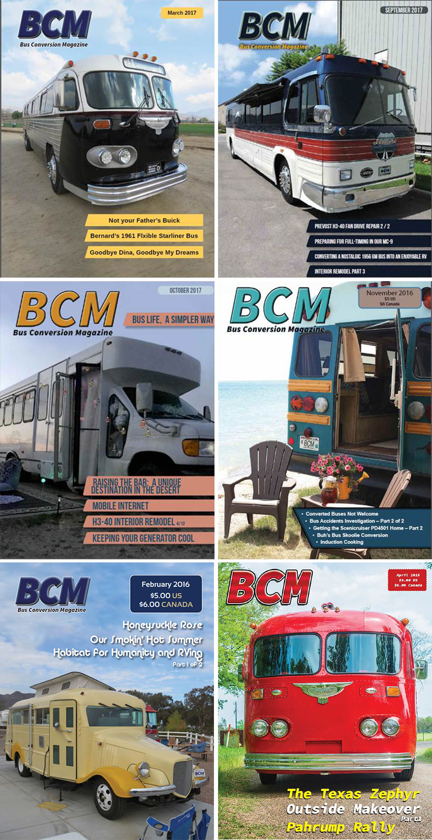 Subscriptions Bus Conversion Magazine